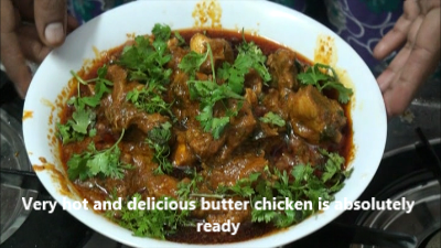 Butter Chicken Recipe Preparation – Indian Dishes