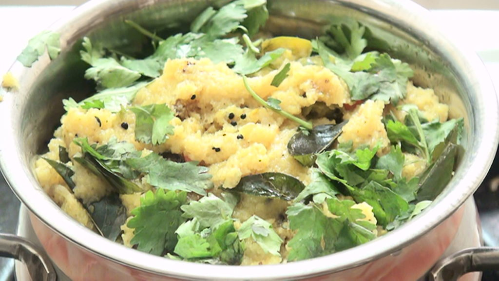 How to Make a Upma dish – Semolina – Indian Breakfast